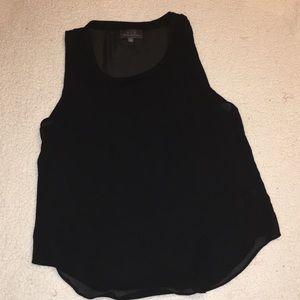 PJK Sheer black top